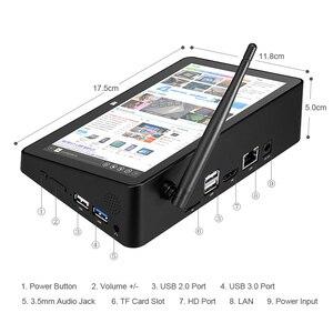 Image 4 - 新 PIPO X8S X8 プロデュアル HD グラフィックス TV ボックス Windows 10 インテル Z3735F クアッドコア 2 ギガバイト/32 ギガバイト Tv ボックス 7 インチ画面ミニ Pc
