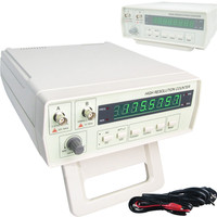 VICTOR VC3165 0.01Hz 2.4GHz Frequency Meter Digital Frequency Counter CF Meter English panel