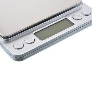 Image 5 - 500G/1/2/3kg 0.01/0.1g LCD Digital Scales MINI Precision กรัมน้ำหนักเครื่องชั่งน้ำหนักอิเล็กทรอนิกส์ BALANCE สำหรับชาเบเกอรี่