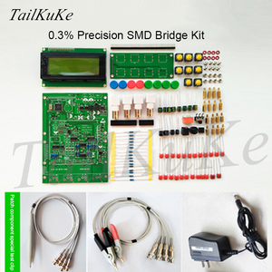 Image 5 - XJW01 LCR digital bridge tester  ESR Kit