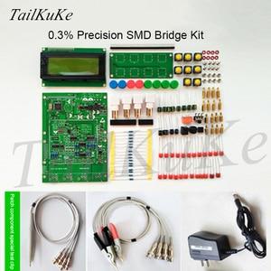 Image 5 - XJW01 LCR testeur de pont numérique Kit ESR