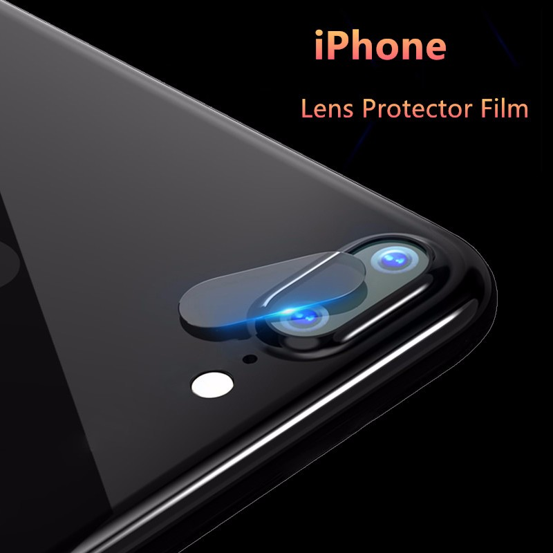 SIANCS Clear HD Lens Film For iPhone 6 6s 7 8 Plus X Rear Camera Cover Back Lens Screen Protector Tempered Glass Anti-Scratch