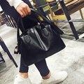 CHISPAULO Marca Famosa Bolsas de Cuero Genuino Para Las Mujeres de La Borla de Las Mujeres bolsos de cuero Bolsa Femininas Europea Estilo Fold X65