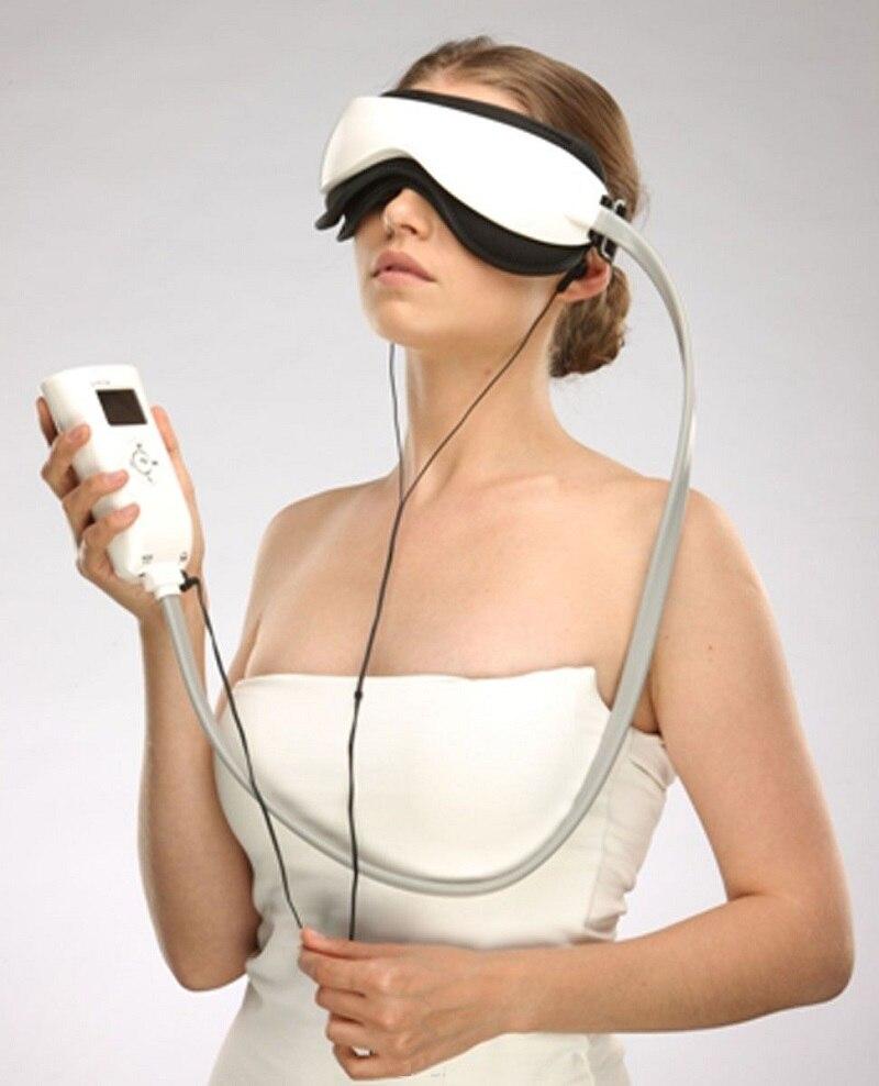 Купить с кэшбэком Eye Massager Glasses With Music, Air Pressure & Vibration Infrared Heater Eyes Care Device