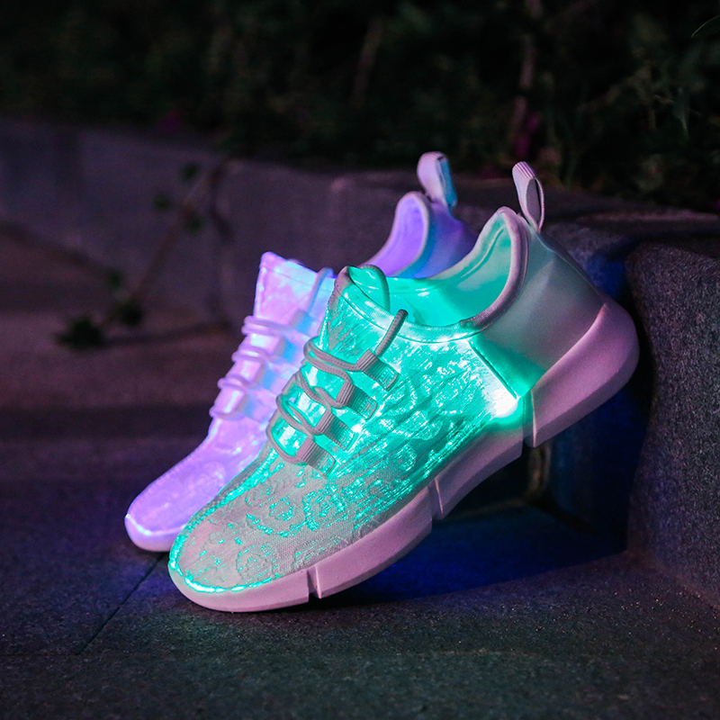 Adulti Homme Capretto Di Light Fashion Ginnastica Scarpe Shuffle Led Schoenen Up Da Casual Melbourne Coppia Nere Luminoso Chaussures Oxwxp7q