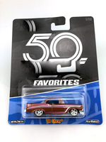 Matchbox Hot and Wheels 1:64 Sports Car CHEVY 50th Anniversary Collective Edition Metal Material Race Car Gift For Kid