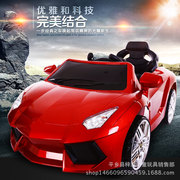 Aliexpress Com Buy The New Lamborghini Children S Electric Car