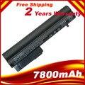 7800 mAh Reemplazo de 9 Células batería para Portátil HP 2533 t EliteBook 2530 p 2540 p Hp Compaq 2400 Series 2510 p nc2400