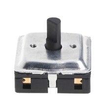 4 позиционный поворотный выключатель/низкий/средний/высокий для тепловентилятора 1 шт