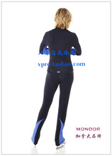 skating training trousers for women free shipping blue color custom figure skating dress customize