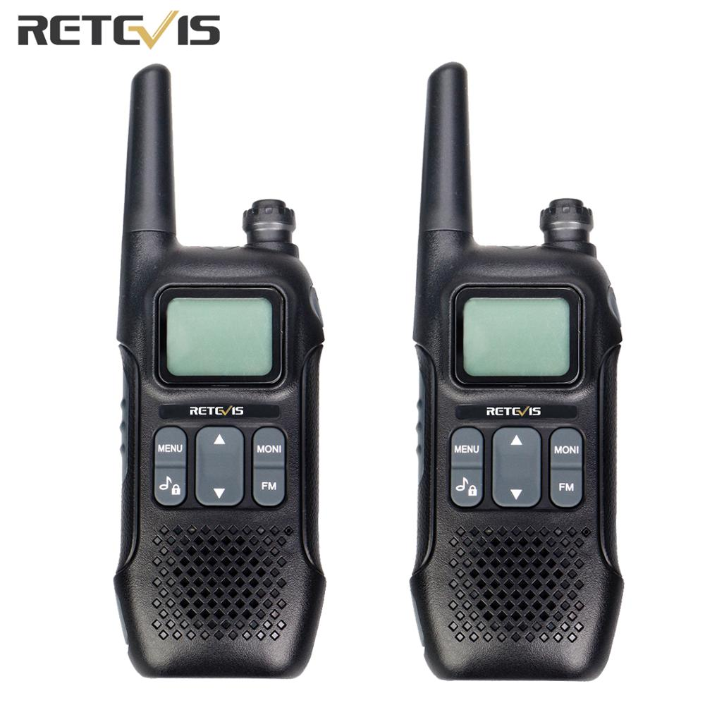 2pcs Retevis RT16 Walkie Talkie Radio FRS 2W NOAA VOX License free Weather Alert Outdoor Radio