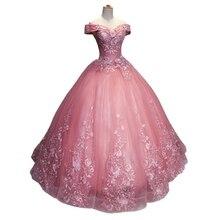Bealegantom 2019 New Ball Gown Lace Quinceanera Dresses Beaded Up Debutante Sweet 16 Dress Vestidos De 15 Anos QA1547