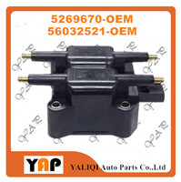 New High Quality Ignition Coil FOR FITChrysler PT Cruiser Sebring Cirrus 2.0L 2.4L L4 5269670 56032521 2000-2010