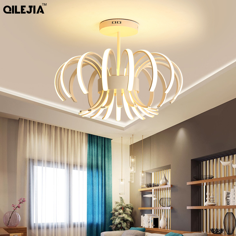 New led Chandelier For Living Room Bedroom Home lustre para sala AC85-265V Modern Led Ceiling Chandelier Lamp Fixtures lustreNew led Chandelier For Living Room Bedroom Home lustre para sala AC85-265V Modern Led Ceiling Chandelier Lamp Fixtures lustre