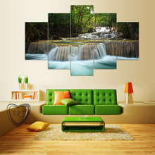 5 Pcs Landscape Painting Modern Home Decor Canvas Art Modular Pictures Painting Wall Poster Painting for Kitchen decor