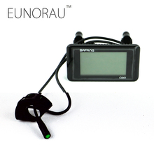 bafang Electric Bicycle display 36V 48V e bike intelligent C961 Control Panel EBIKE LCD Display Parts waterproof connector