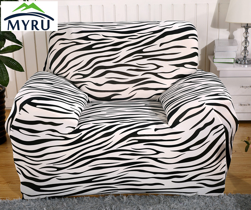Zebra Stripes Younthu0027s Life Chaise Sofa Cover Big Elasticity Flexible Couch  Cover Loveseat Sofa Funiture Cover Machine Washable