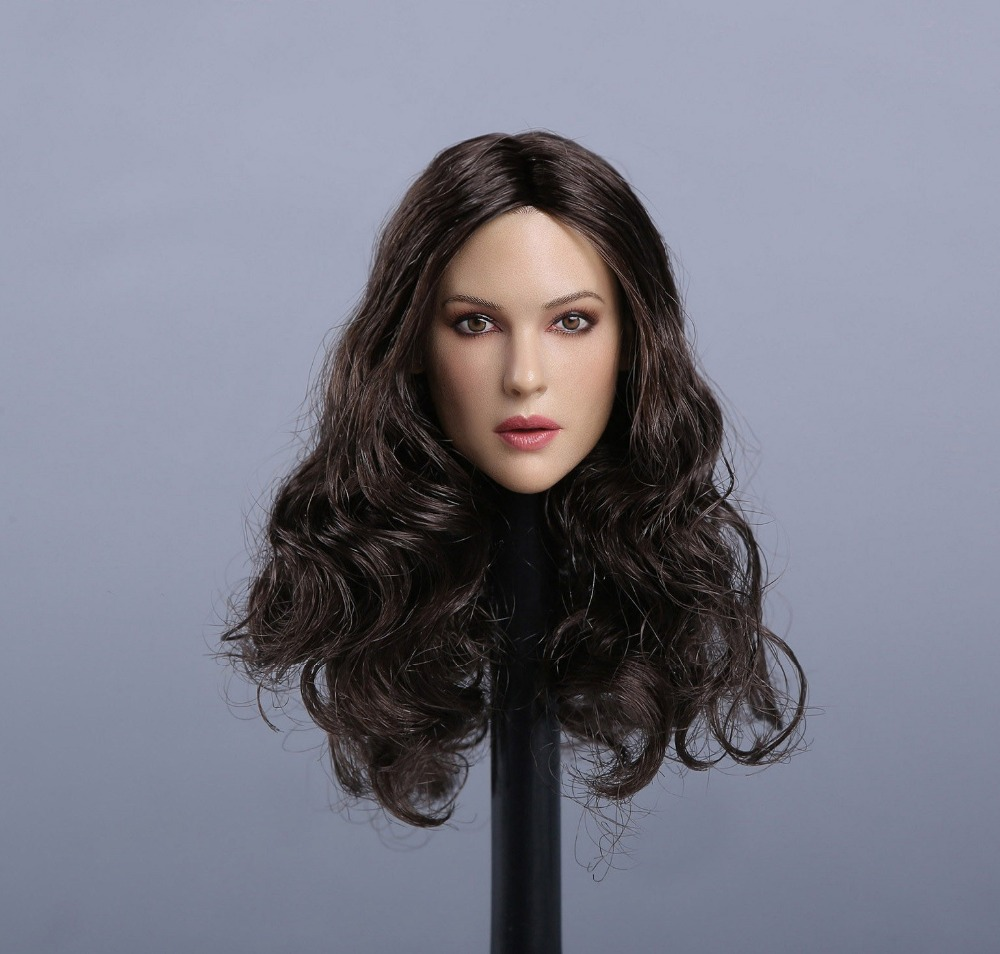 1/6 scale figure accesories Europe and US beauty head sculpt carved 12 Action figure doll.not include body;clothes and other