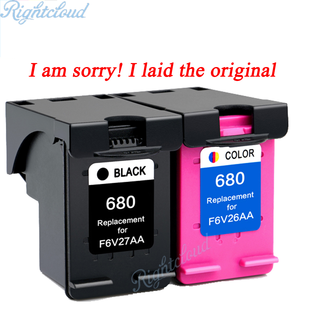 hot 2pk for hp 680 ink cartridge for hp deskjet 3835 2135 3635 2136 2138 3636 4535 4536 4538. Black Bedroom Furniture Sets. Home Design Ideas
