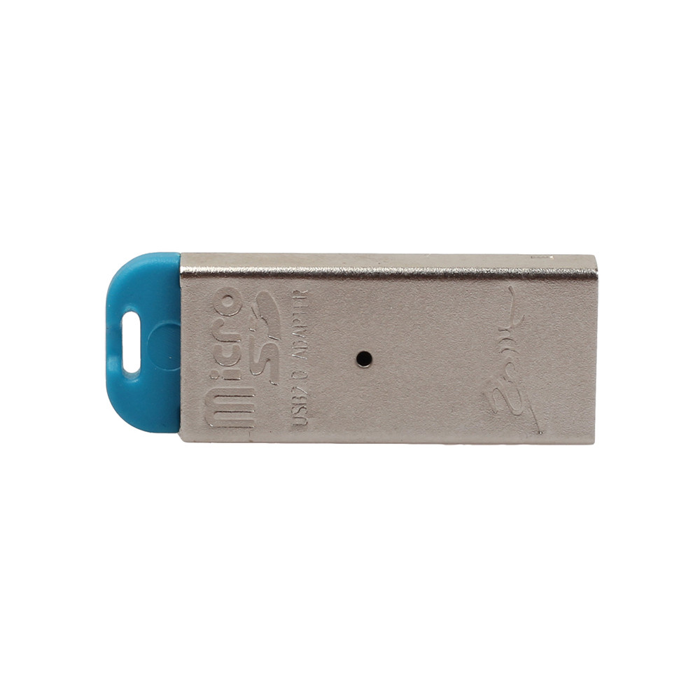 High Speed Mini USB 2.0 Micro SD TF T-Flash Memory Card Reader Adapter Mini size slim Highly durable plastic shell casing 63# 4