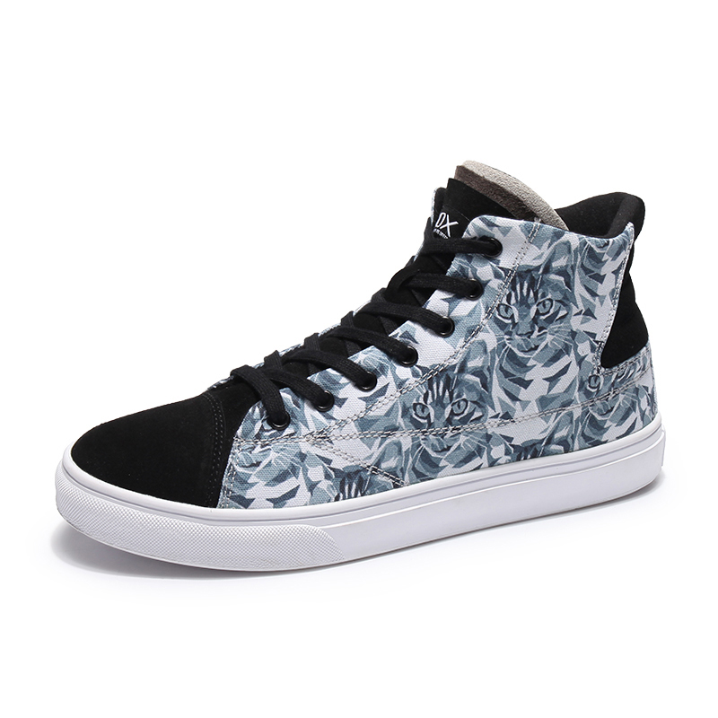 Mens Womens Hip hop Canvas High Top Trainers Running Sports Skate Shoes Boots