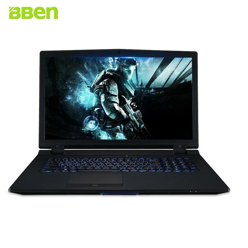 BBEN Laptop Windows 10 Intel i7 6700K NVIDIA GTX970 16GB RAM 512G SSD 1T HDD Killer