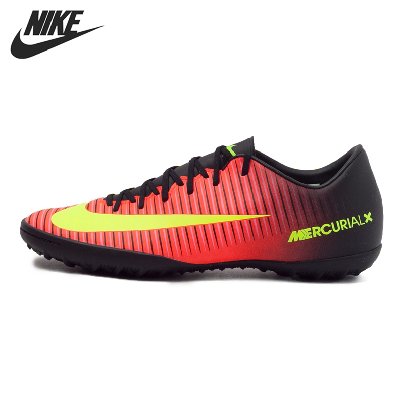 Original NIKE MERCURIALX VICTORY VI TF Men's Football Shoes Soccer Sneakers original new arrival nike mercurial victory v tf men s soccer shoes football sneakers