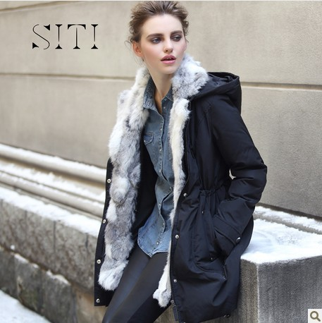 Aliexpress.com : Buy SITI2013 The new hooded thickening in long ...