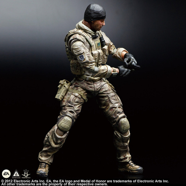 Фигурка Солдат по игре Medal of Honor 28 см ПВХ PlayArts 2