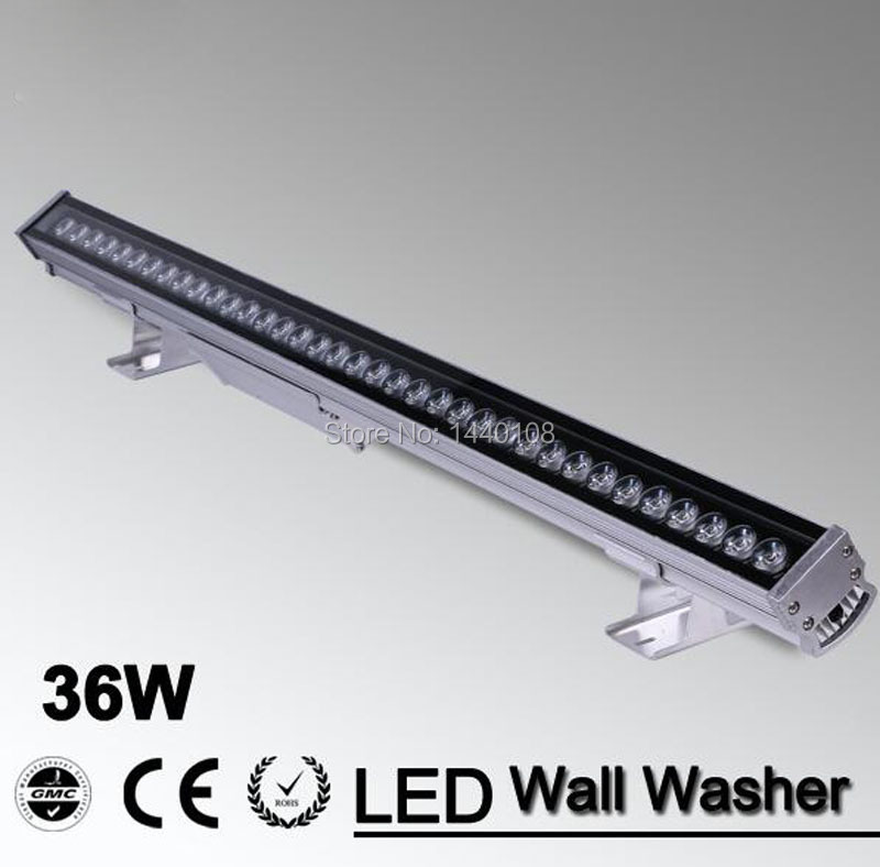 36W DMX LED Wall Washer DMX 512 RGB 85-265V DMX512 Control Color Change Lamp Epistar Chip 50000h CE RoHS flash led washer rgb ip34