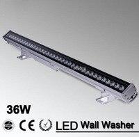 36W Led strahler Wall Washer RGB 85 265V DMX512 Steuer Farbe Ändern Lampe Outdoor landschaft Beleuchtung Flutlicht garten Licht wall washer dmx wall washerled wall washer -