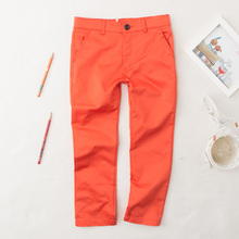 The new girl s leisure cotton trousers thin fashion on sale free shipping