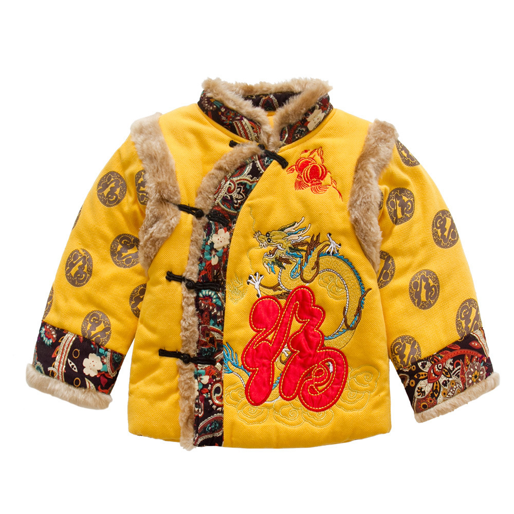 Anlencool 2017 new winter children's suits Chinese wind carp costume baby Chinese style costume good quality baby clothing цена 2017