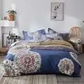 Diseño de cebra juego de cama 100% edredón de algodón funda de almohada sábana plana edredón funda de cama conjunto completo reina rey