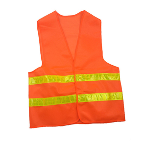 Image 4 - High Visibility Yellow Vest Reflective Safety Workwear for Night Running Cycling Man Night Warning Working Clothes Fluorescent