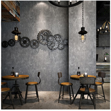 Retro nostalgia INS industrial wind Cement mottle personality 3D network wallpaper restaurant bar clothing store wall sticker цена 2017