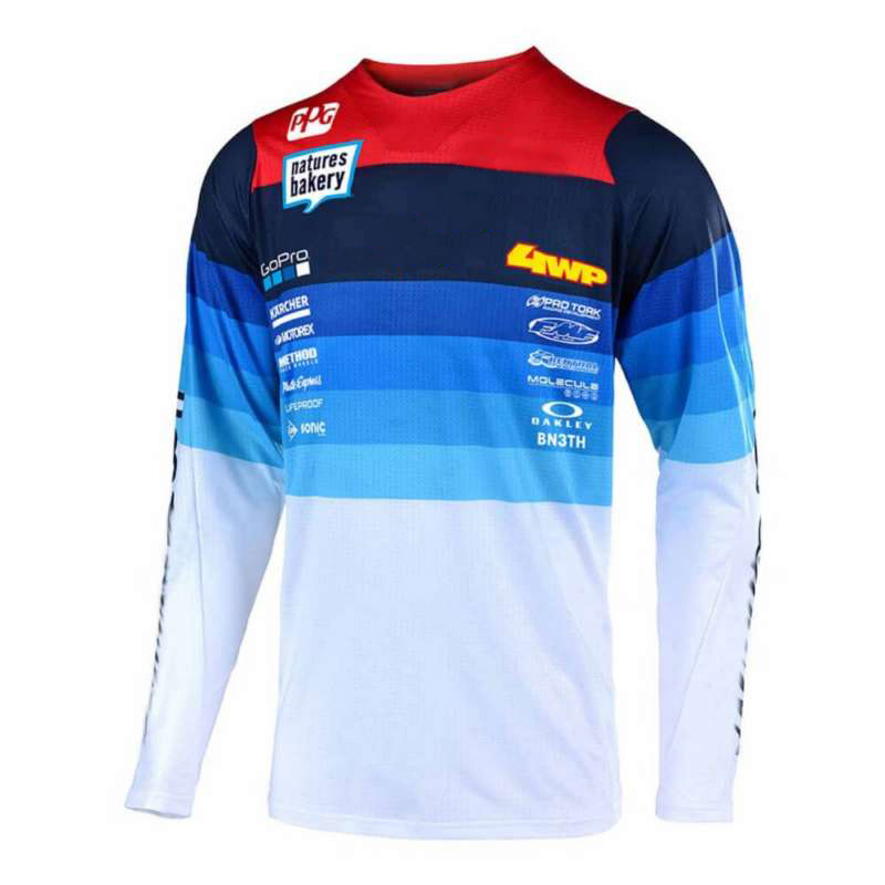 Downhill Jersey Moto Mx-Maillot Mountain-Spexcec Clycling Ciclismo Dh Off-Road Hombre