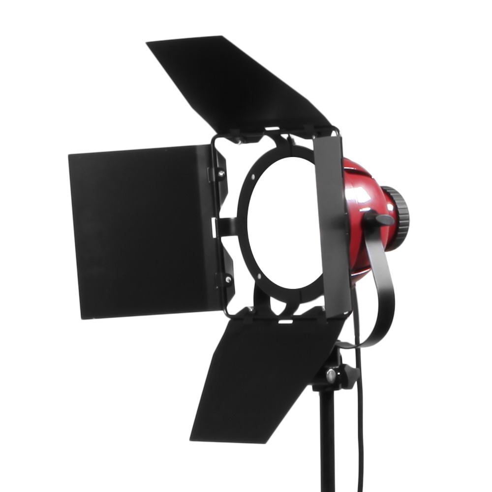 50W 5500K Red Head Light Dimmable Continuous Compact Studio Photographic Lighting Lamp Head For Camera Photo video Equipment50W 5500K Red Head Light Dimmable Continuous Compact Studio Photographic Lighting Lamp Head For Camera Photo video Equipment