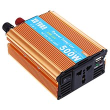 Car Power Inverter 500W Watt Converter Power Supply DC 12V to AC 220V USB Adapter Portable Voltage Transformer Car Chargers