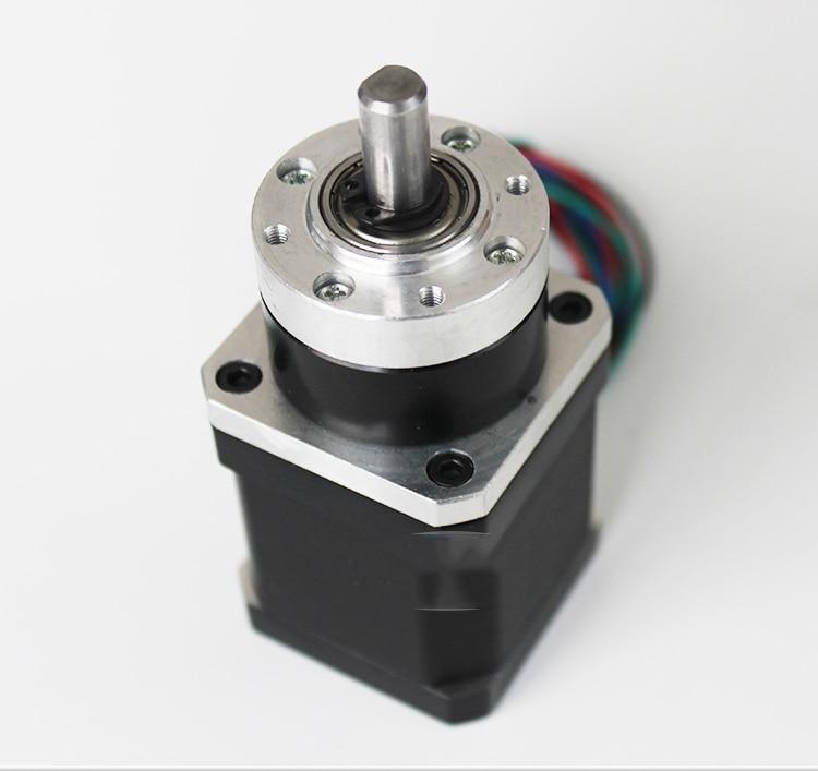 Gearbox Ratio 5.18: 1 High Precision Planetary Reducer + 3Nm Nema17 Stepper Motor 1.5A for 3D Printer DIY One Year Warranty motor jw7114 370w 1400 turn induction motor warranty for one year