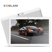 Koslam Octa core android 7.0 Планшеты ПК 10 дюймов 1920×1200 IPS Экран 2 ГБ Оперативная память 32 ГБ Встроенная память 4 г LTE WI-FI GPS 10 «телефонный звонок Phablet pad