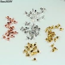 100 pieces SS6.5 SS8.5 SS10 SS12 SS14 SS16 SS22 SS28 SS38 Brass End Fasteners for Connect Rhinestone Chain(JM4590)-in Jewelry Findings & Components from Jewelry & Accessories on AliExpress