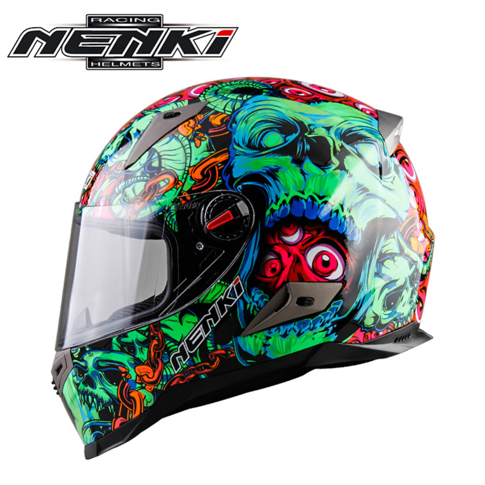 Motorcycle Helmet Full Face Men Women Helmet Moto Casque Casco Motocicleta Capacete Kask Motor Bike Racing Helmets ECE стоимость