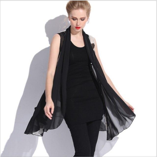 XL-4XL плюс размер женщины лето шифон жилет без рукавов печати оборками женская мода жилеты