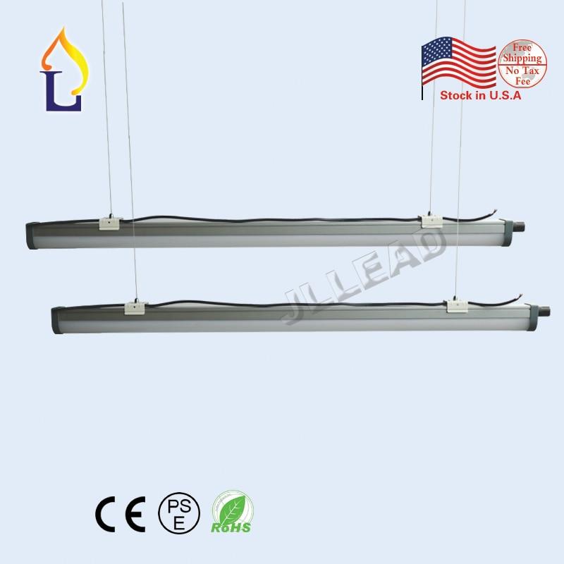 20 pcs/lot LED Tri-preuve lumière 72 W 5ft 55 W 4ft Surface intégrée Tubes AC100-277V LED haning Tube lumière