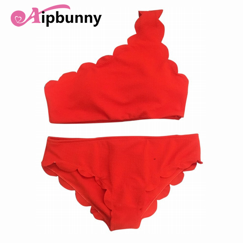 Aipbunny Mujer Brazilian Women Red <font><b>Bikini</b></font> Set Bathing Suit <font><b>Sexy</b></font> Swimwear Women Suits Biquinis Feminino 2018 <font><b>Brasileiro</b></font> Swimsuit image