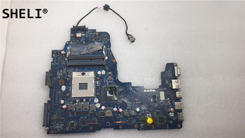 Laptop motherboard For TOSHIBA Satellite P750 P755 notebook pc Mainboard K000128590 PHQAA LA-6832P  CPU SLJ4P HM65