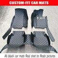 Custom fit ковриков для автомобилей с правым рулем для toyota Camry 40 Corolla RAV4 Land Cruiser LC 200 Prado 150 120 5D автомобиль для укладки