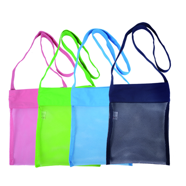 New Design 2018 Beach Mesh Bag 100pcs Kids Seas S Tote