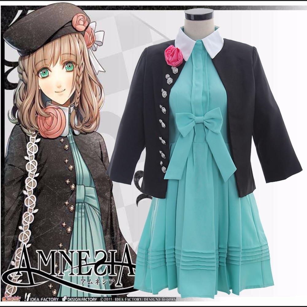 Cosplaydiy Custom Made Amnesia Cosplay Costume The Heroine Casual Dress Anime Amnesia The Heroine Casual Dress L0516 стоимость